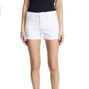 PAIGE Denim Jimmy Jimmy Shorts in White